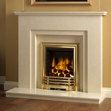 "Be Modern Clara Marble 46"" Fireplace Suite"