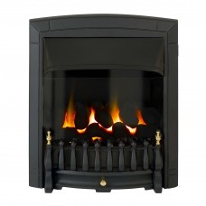 Valor Dream Balanced Flue Black Gas Fire