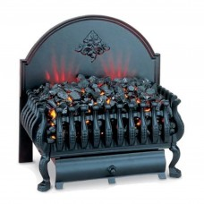 Burley Cottesmore Black Electric Fire Basket