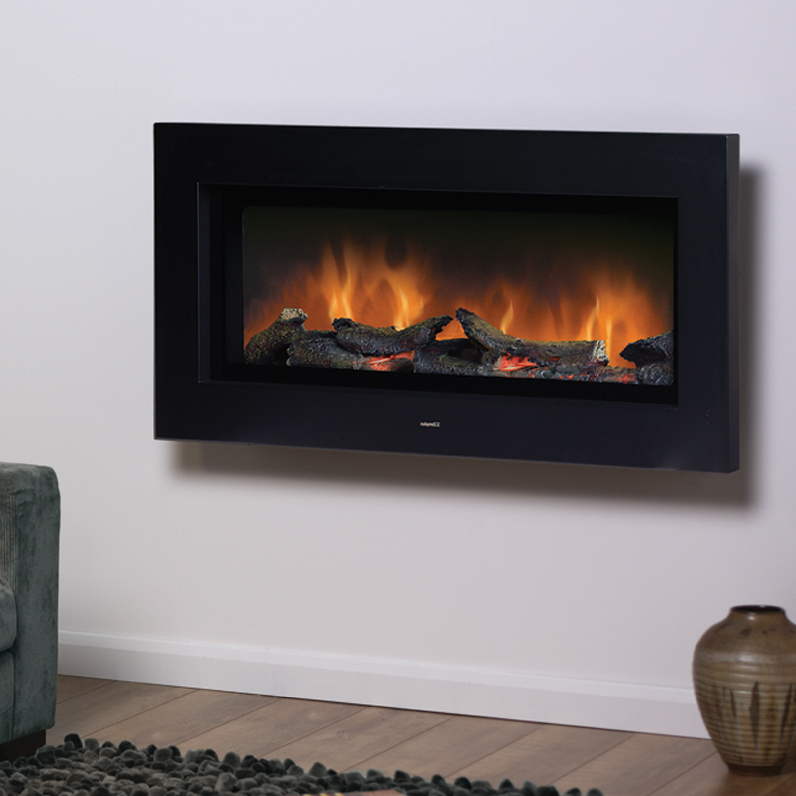Brand New Dimplex Sp16 Optiflame Wall Mounted Electric Fire Free Fast Ebay