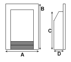 Gas Fire Dimensions
