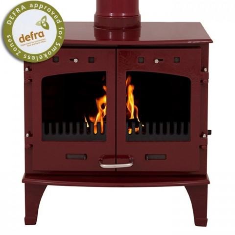 Carron Black Enamel 7.3kW Woodburning/Multifuel Stove