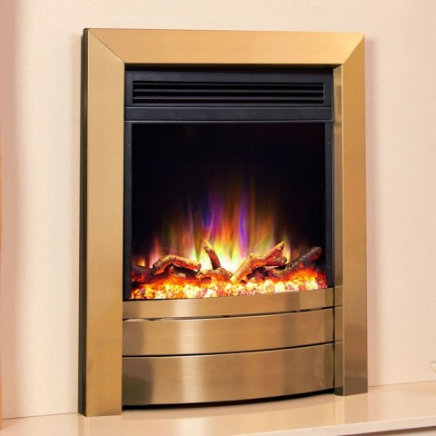 Celsi Electriflame Daisy Black Electric Fire