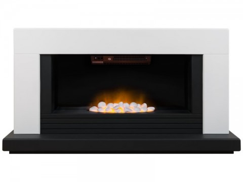Fireplaces 4 Life Carrera 48'' Electric Fireplace Suite