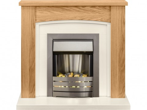 Fireplaces 4 Life Chilton 39'' Electric Fireplace Suite