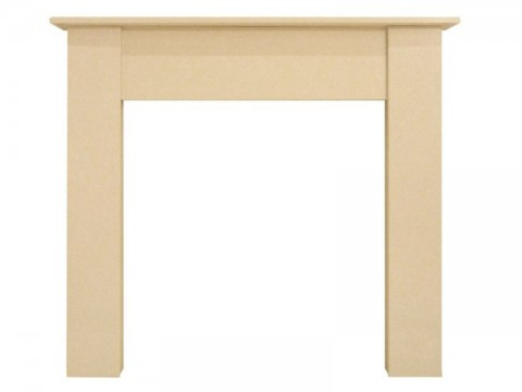 Fireplaces 4 Life Borussia 48'' Marble Fire Surround Beige