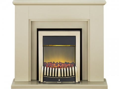 Fireplaces 4 Life Greenwich 45'' Elise Electric Fireplace Suite