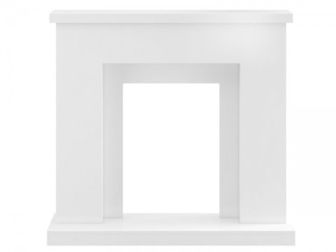 Fireplaces 4 Life Lomond 39'' Pure White Fireplace