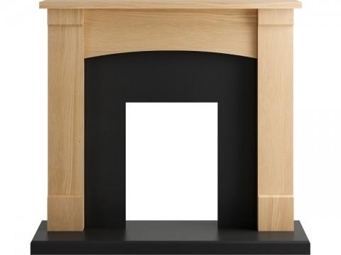 Fireplaces 4 Life Lancaster 48'' Oak Fireplace