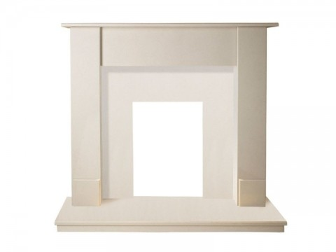 Fireplaces 4 Life Maine 48'' Marble Fireplace