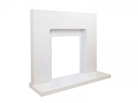 Fireplaces 4 Life Solitaire 48'' Marble Fireplace