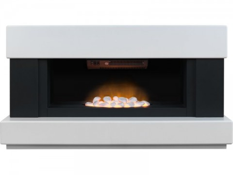 Fireplaces 4 Life Verona 48'' Panoramic Electric Fireplace Suite