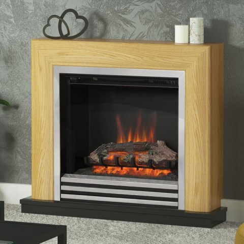 """Be Modern Devonshire 34"""" Electric Fireplace Suite"""