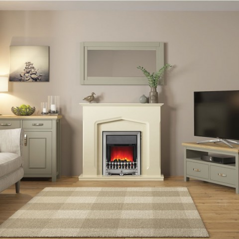 Be Modern Bramwell Eco Electric Fireplace Suite