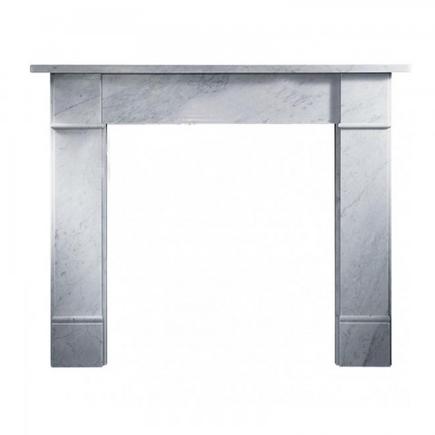 "Gallery Brompton 56"" Marble Fireplace Surround"