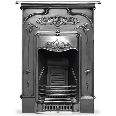 Carron Jasmine Combination Cast Iron Fireplace Full Polished