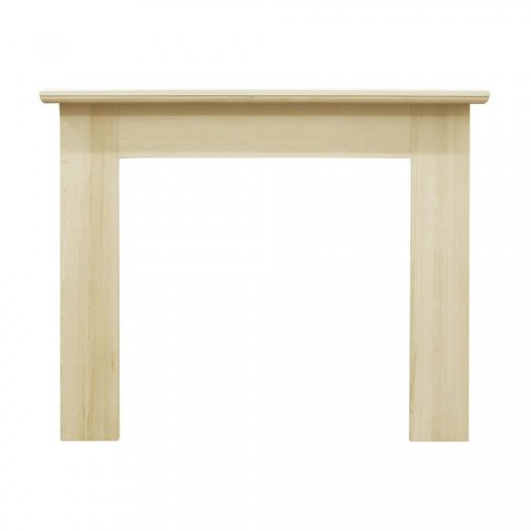 Carron Wexford 53'' Pine Wood Fire Surround Unfinished