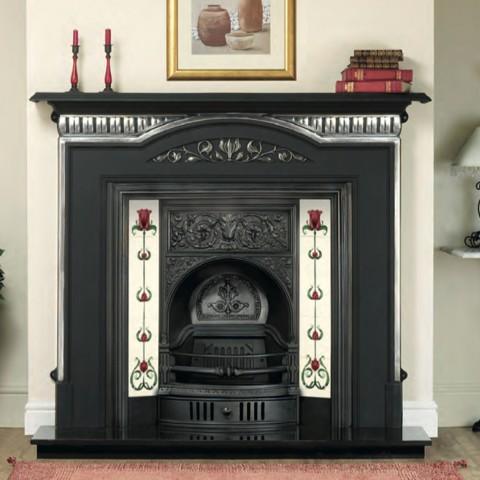 Massive deals cast tec dublin fireplace insert for Electric fire inserts dublin