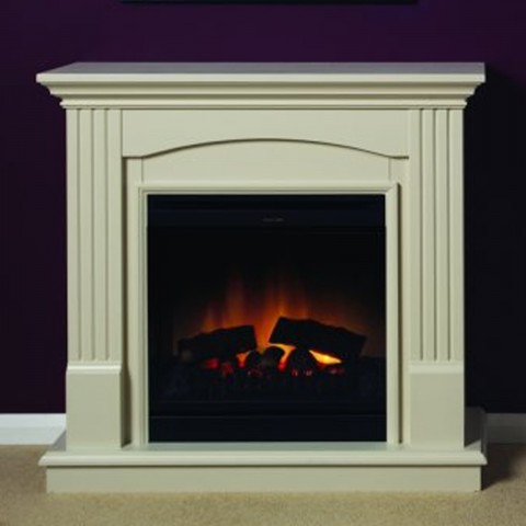 Dimplex Chadwick Optiflame® Freestanding Electric Fireplace Suite