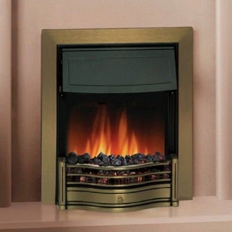 Dimplex Danesbury Antique Brass Optiflame® Inset Electric Fire
