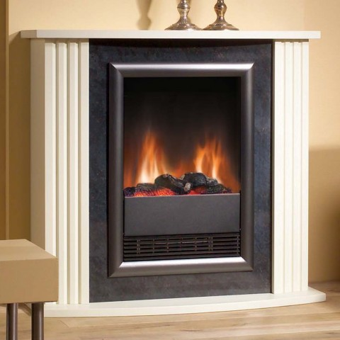 Dimplex Mozart Stone Effect Optiflame® Electric Fireplace Suite