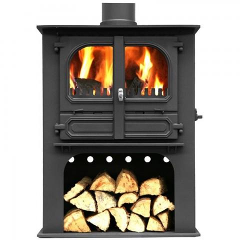 Dunsley Highlander 10 Wood Burning/Multifuel Log Store Stove