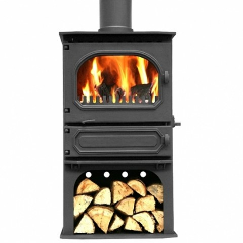 Dunsley Highlander 7 Wood Burning/Multifuel Log Store Stove