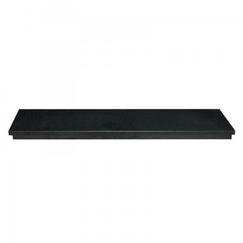 Gallery Ebony Granite Hearth
