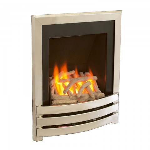 Flavel windsor contemporary slimline inset gas fire for Modern gas fireplace price