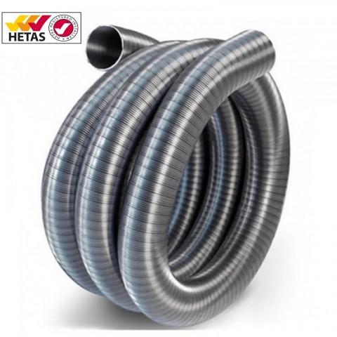 """Flexible Stainless Steel 200mm (8"""") 904/904 Grade Flue Liner"""