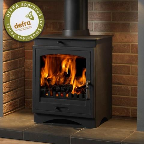 Gallery Helios 8 Clean Burn Multifuel/Wood Burning Stove