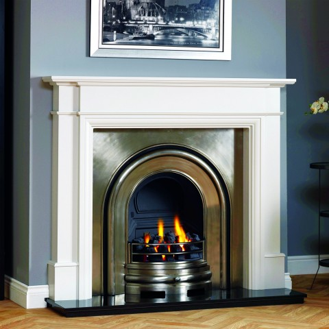 GB Mantels Huntly Oak Fireplace Suite