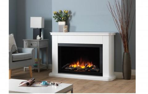 Katell Milan 53'' Electric Fireplace Suite
