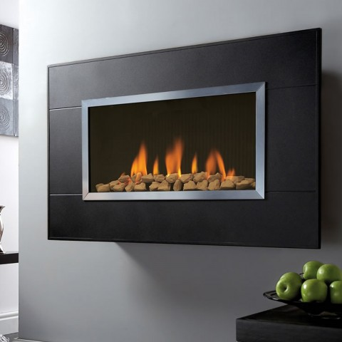 Wall Mounted Fire Kinder Limours Balanced Flue Gas Fire
