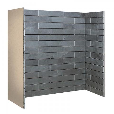 Gallery Porcelain Slate Brick Bonded Chamber