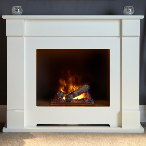 Suncrest Lucera 47'' Electric Fireplace Suite
