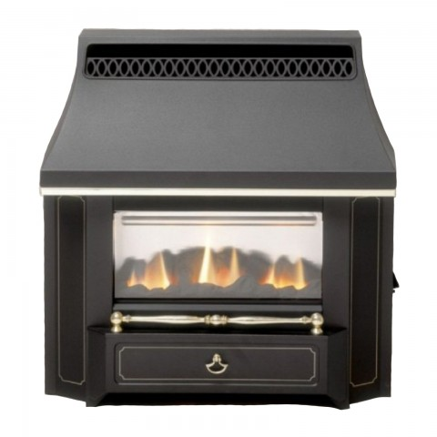 Valor Black Beauty Slimline Gas Fire