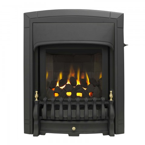 Valor Dream Slimline Homeflame Black Gas Fire