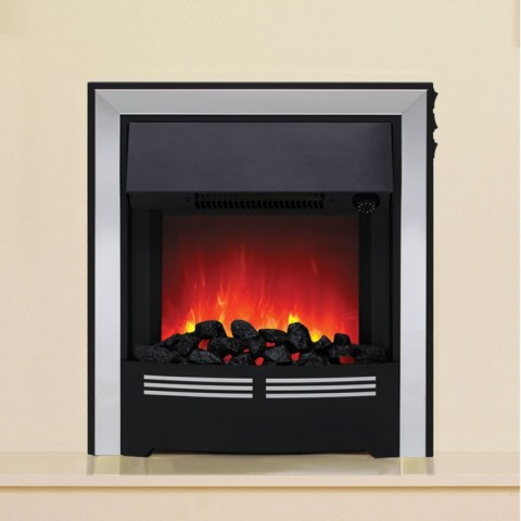 Be Modern Vitesse Inset Electric Fire Chrome