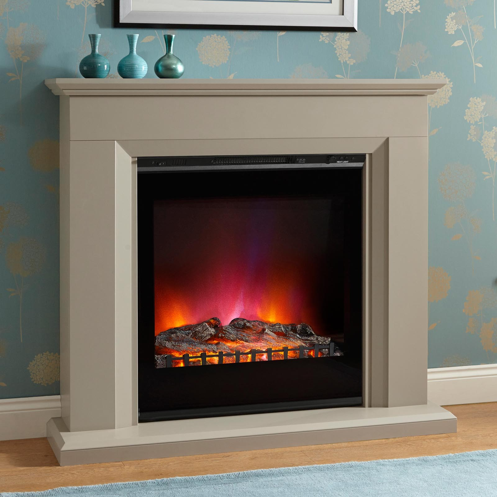 Modern Style Elgin Hall Arletta 48 Electric Fireplace Suite Incredible Prices