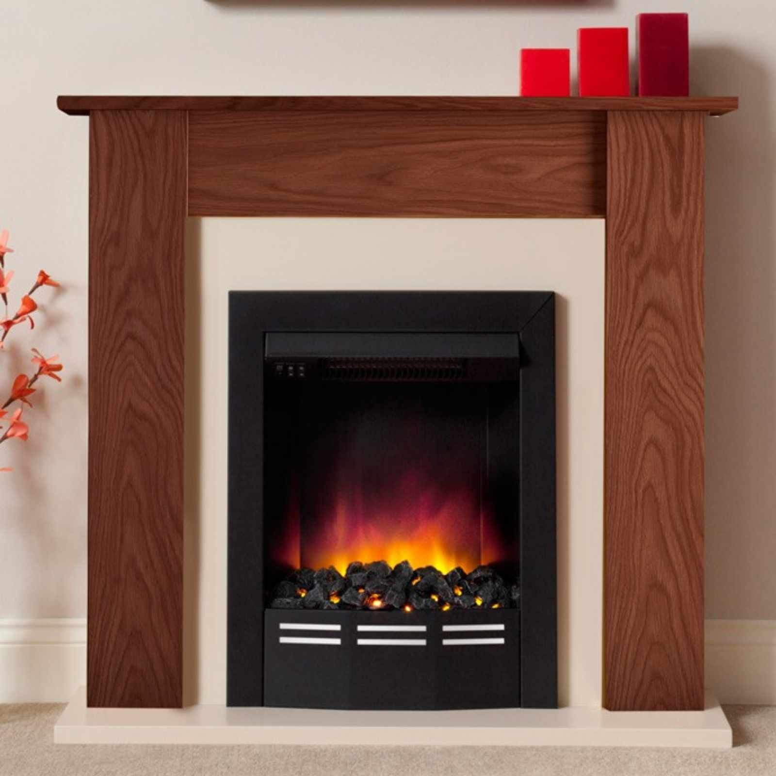 Low Prices Be Modern Colston Eco Electric Fireplace