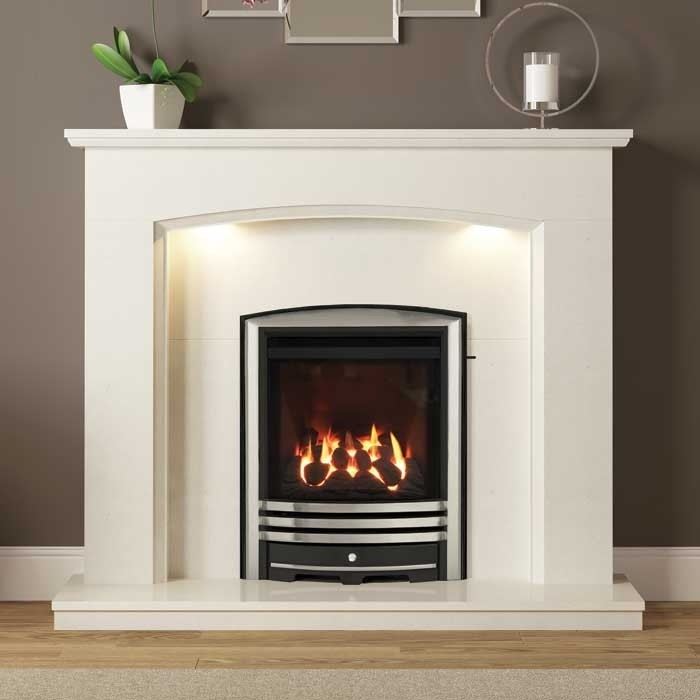 Be Modern Emelia 48 Marble Fireplace Suite Be Modern