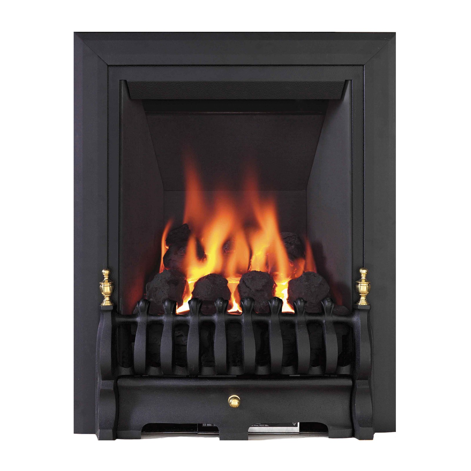 Beautiful Design Be Modern Classic Inset Black Gas Fire Affordable