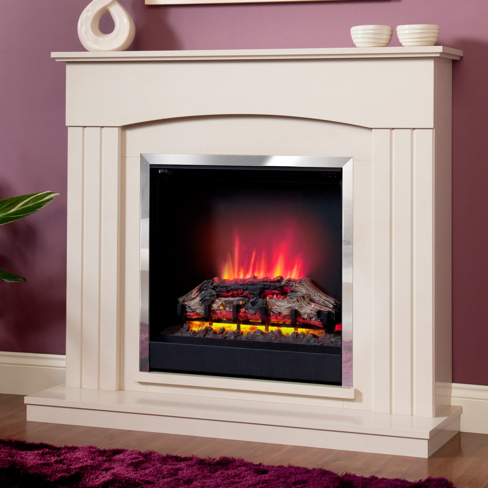 Beautifully designed be modern linmere electric fireplace for Modern gas fireplace price