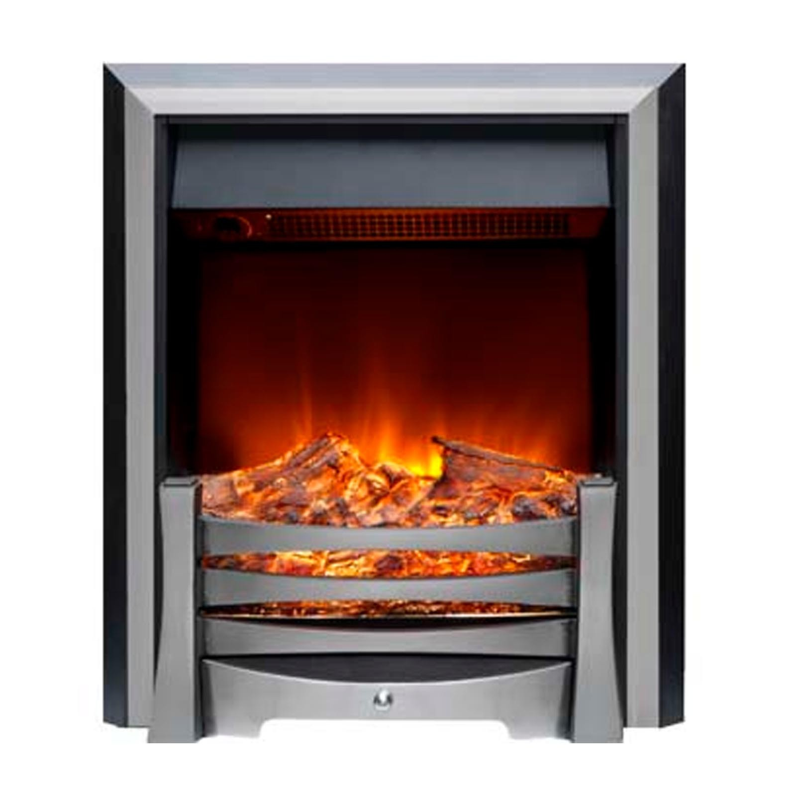 Top Customer Service Burley Egleton Stainless Steel Electric Fire Low Prices