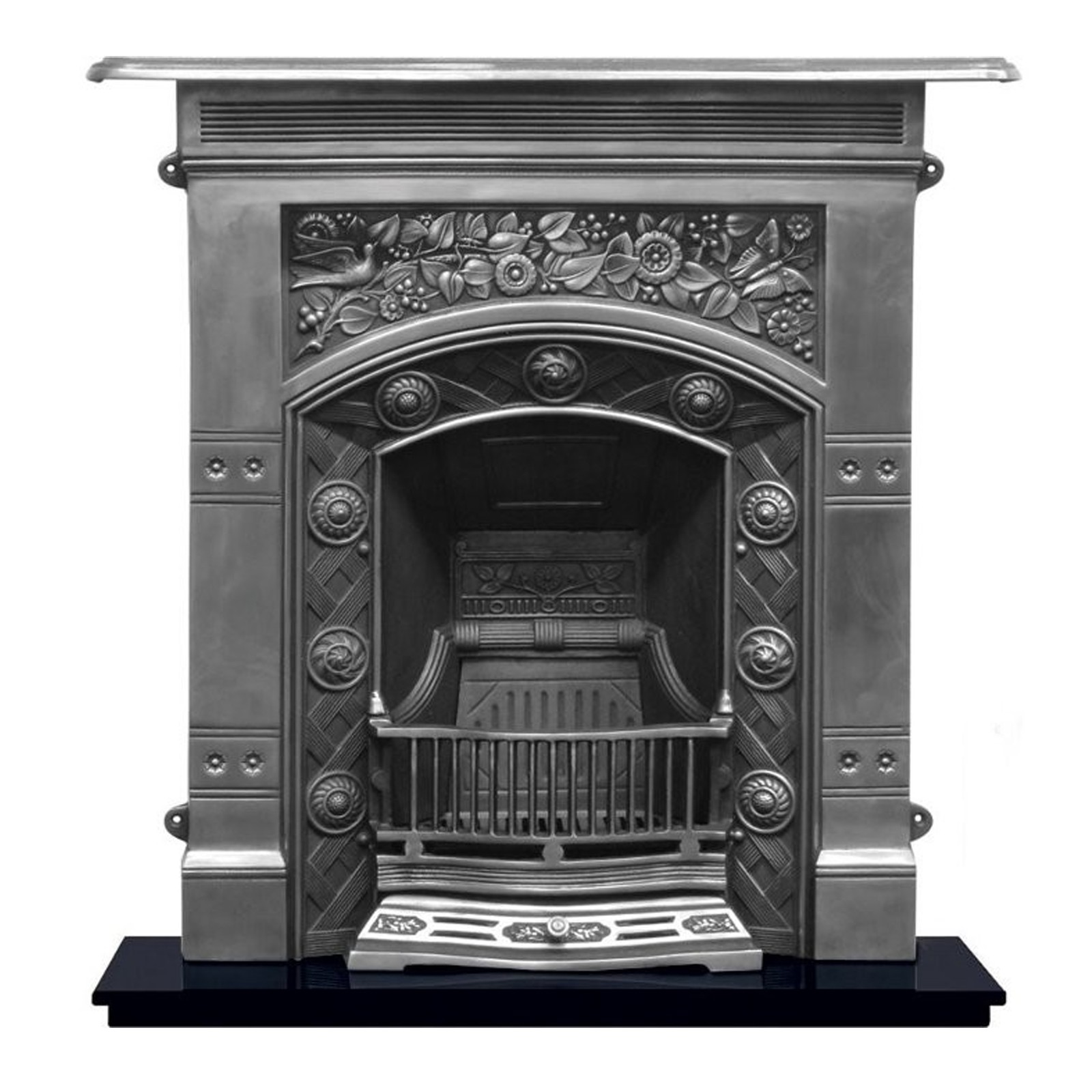 Half Archway Carron Jekyll Combination Cast Iron