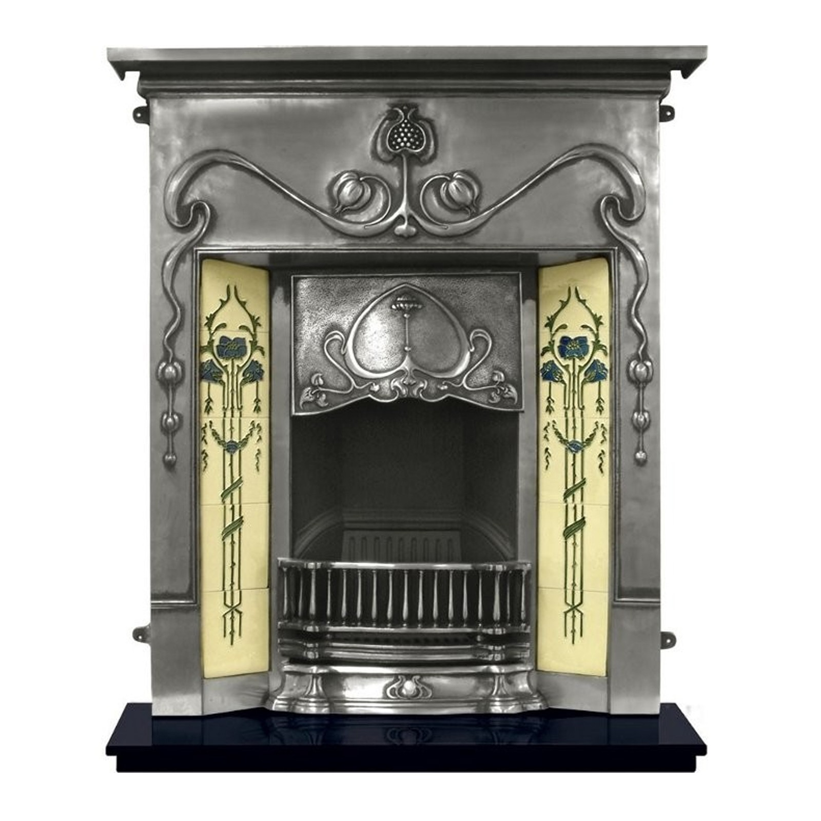 glasgow tec product decorative iron cast ardley fireplaces boyle stoves insert fireplace arched wm