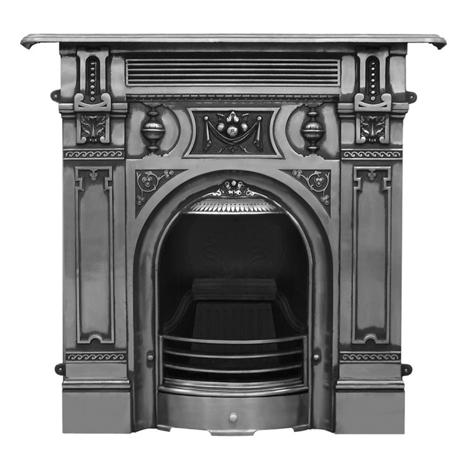 Victorian Fireplace: Carron Victorian Large Combination Cast Iron
