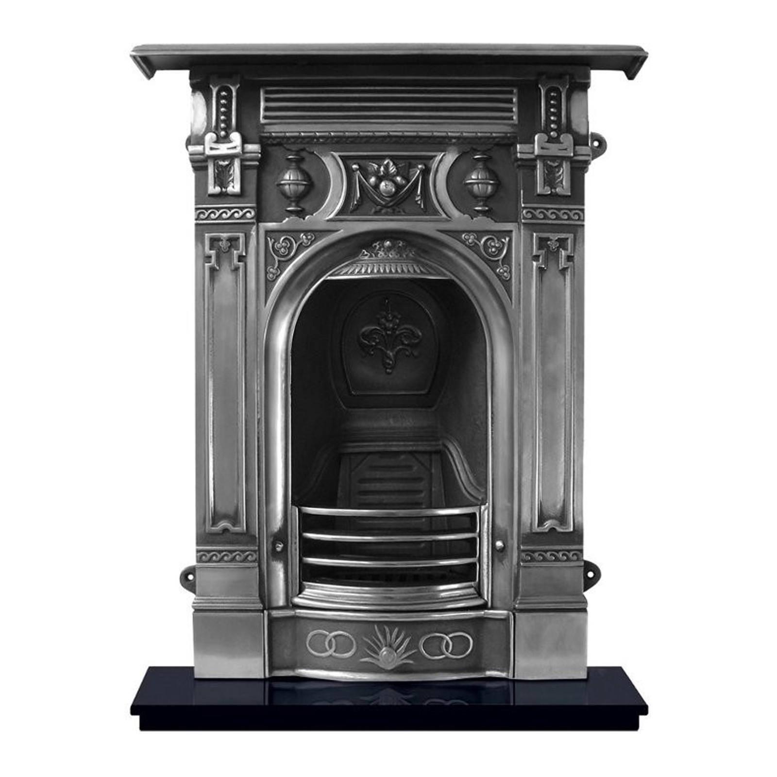 under fresh kit fireplace metal ideas surround cool decoration design furniture small home