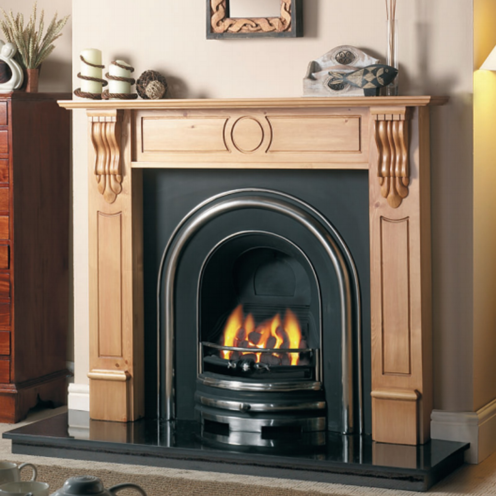 classic cast tec royal arch fireplace insert fantastic
